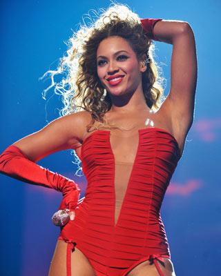 Beyoncé lieferte eine tolle Performance ab.
