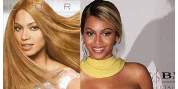 Beyonce Knowles für Werbung aufgehellt?