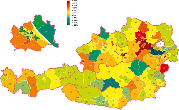 Bezirke Kriminalität