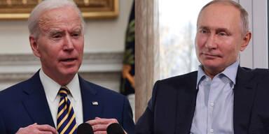 Neue Spannungen: Biden warnt Putin