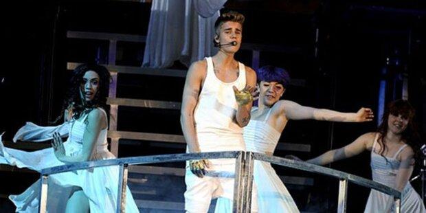 Justin Bieber rockte Wiener Stadthalle