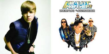Justin Bieber und Far East Movement