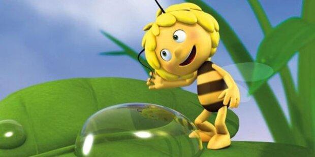 Biene Maja zeigt Wespen-Taille im TV