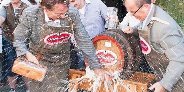 Österreichs Biere zu Gast in Wien