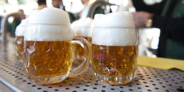 Bier wird ab 1. Dezember teurer
