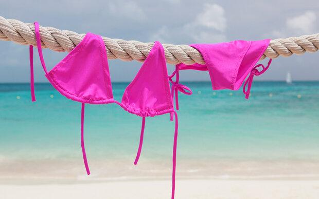 So waschen Sie Ihren Bikini richtig