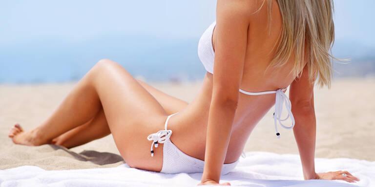 So verhindert man lästige Bikini-Abdrücke