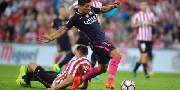 Rapid-Gegner Bilbao unterlag Barcelona