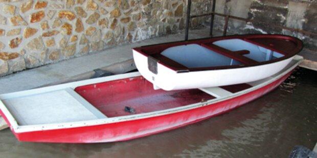 Dreist! Dieb klaute 5 Boote aus dem See