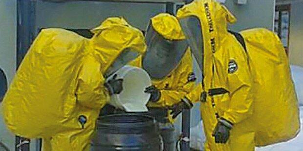 Giftalarm: In Saalbach trat Chlorgas aus