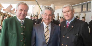 Hermann Schützenhöfer, Heinz Fischer, Hannes Androsch
