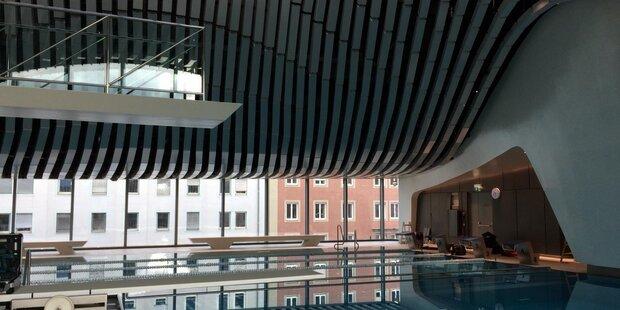 Eröffnung Paracelsus Bad am 12. Oktober