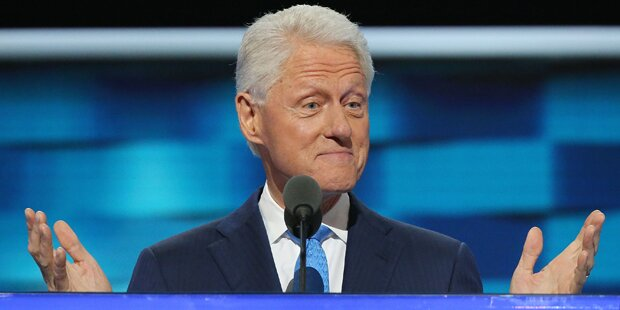 Demokraten laufen Sturm gegen Bill Clinton