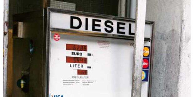 Spritdiebe zapften 4.000 Liter Diesel ab