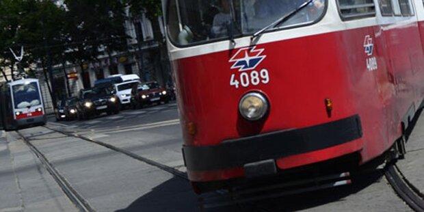 Banden-Krieg in Wiener Straßenbahn