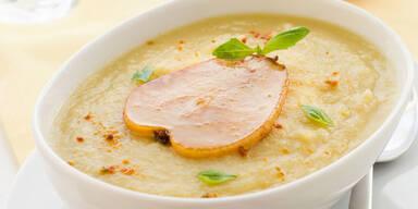 Birnen-sellerie-Suppe