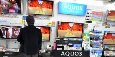 Bis April 25 Prozent mehr Flachbild-TV verkauft
