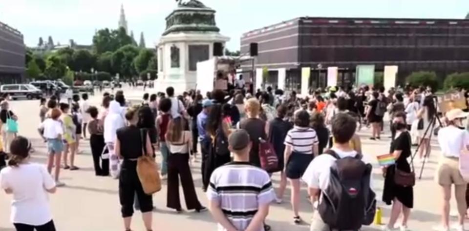 Black Lives Matter in Wien