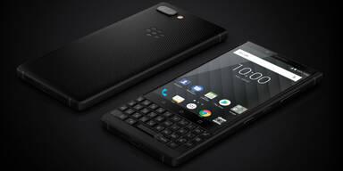 Neuer BlackBerry Key2 startet