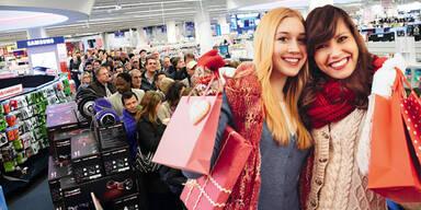 Black Friday Weihnachten Shopping