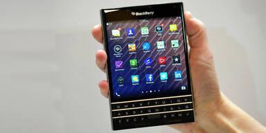 Blackberry greift mit dem Passport an