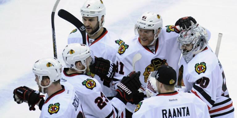 Titelverteidiger Chicago im NHL-Halbfinale