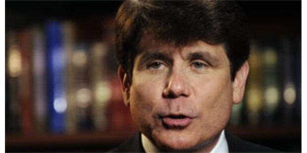 Skandal-Gouverneur von Illinois des Amtes enthoben