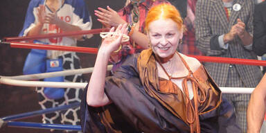 Blaues Auge von Vivienne Westwood