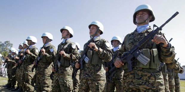 Austro-Blauhelme für Ukraine-Mission