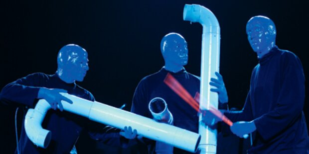 Blue Man Group: Tolle Schau in Blau!