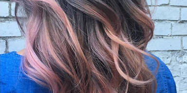Haartrend: Blush Balayage
