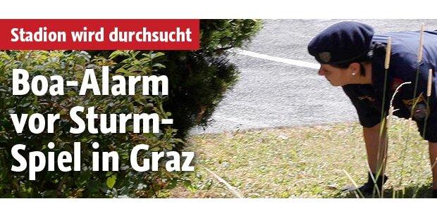 Schlange hält Graz in Atem