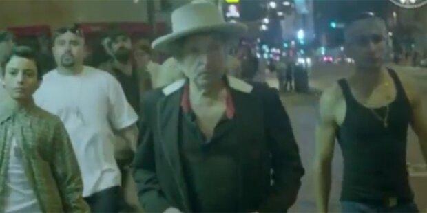 Bob Dylan als Gangster in