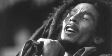 Bob Marley 1980 bei einem Konzert in München