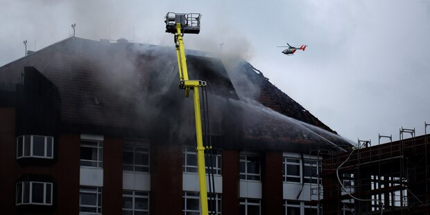 Legte Patientin Brand in Krankenhaus?
