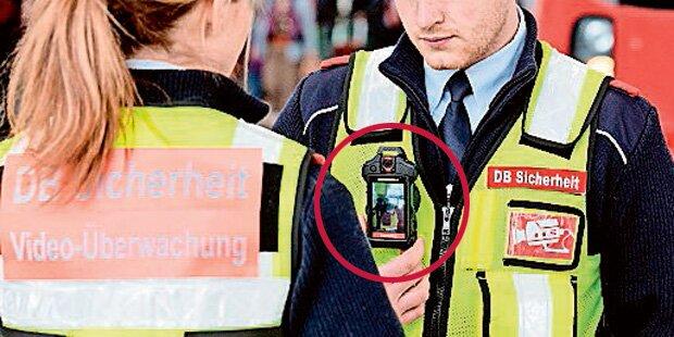 Jetzt Bodycams für ÖBB-Securitys