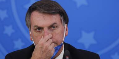 Bolsonaro droht mit Austritt Brasiliens aus der WHO