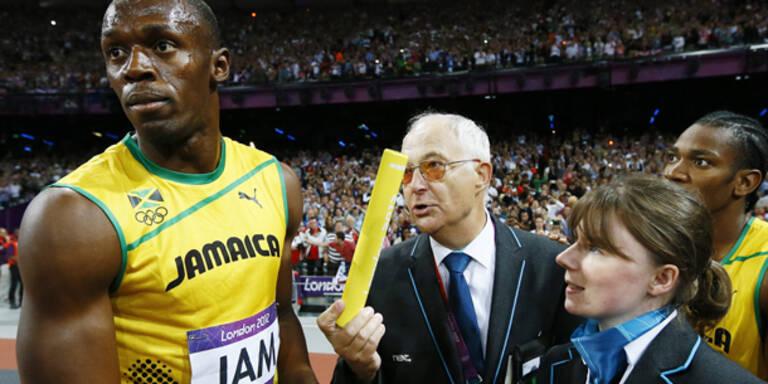 Bolt musste um Staffelholz kämpfen