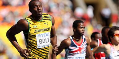 Bolt spaziert ins WM-Halbfinale