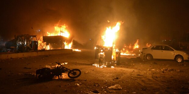 Mehrere Tote bei Bombenanschlag in Pakistan