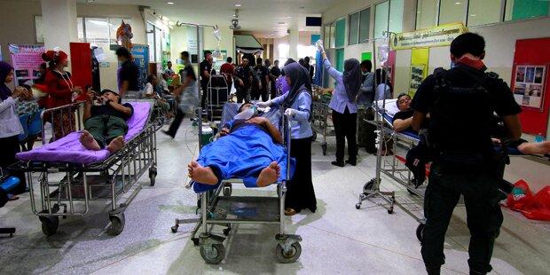20 Verletzte bei Bombenanschlag in Thailand
