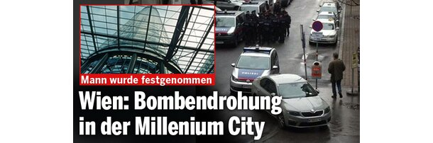 Bombendrohung in der Millennium City