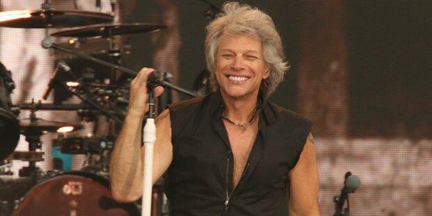 Bon Jovi rocken in Rot-Weiß-Rot