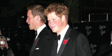 Bond-Premiere: Prinz William & Prinz Harry