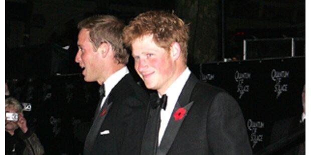 Prinz Harry stahl