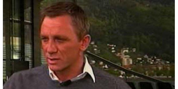 Mr. 007 Daniel Craig zum aktuellen Bon-Dreh