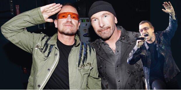 Bono bedankt sich bei deutschen Ärzten