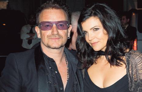 Bono und Frau Ali Hewson