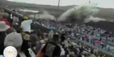 Amateurvideo zeigt tödlichen Flug-Absturz