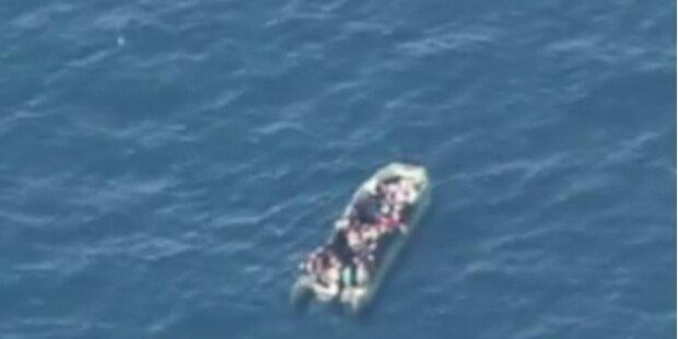 Flüchtlingsdrama vor Italiens Küste - fünf Tote